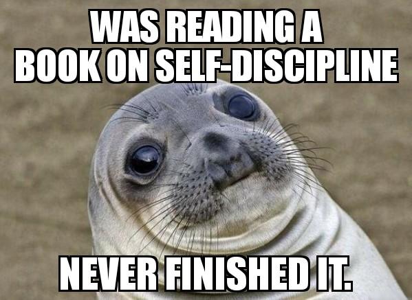 artist self discipline meme